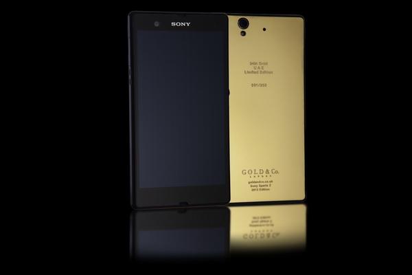 24kt Gold Plated Sony Xperia Z10 Luxury Topics Luxury Portal