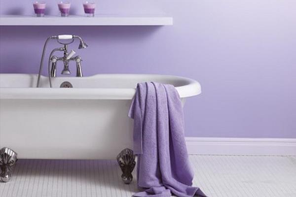 LUXURY PURPLE BATHROOM DESIGNS