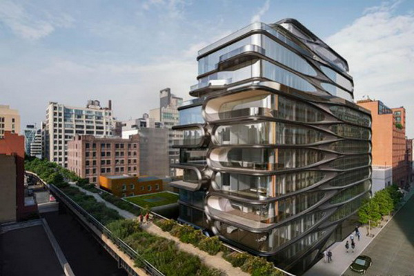 Zaha Hadid's first residential project