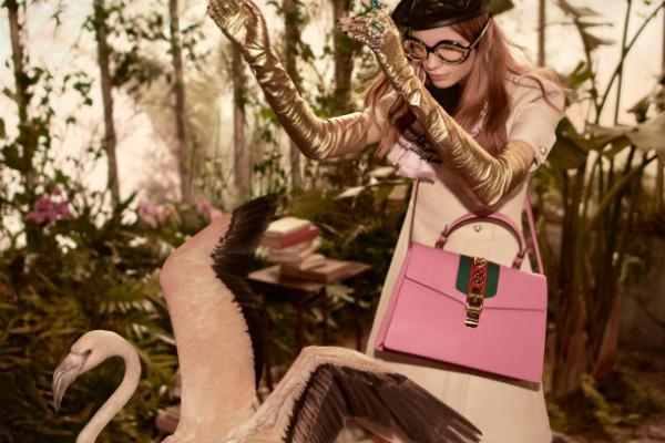 Exotic Gucci pre-fall campaign