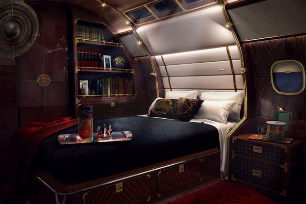 Luxury sky yacht