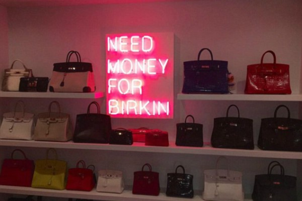 Million dollar wardrobe