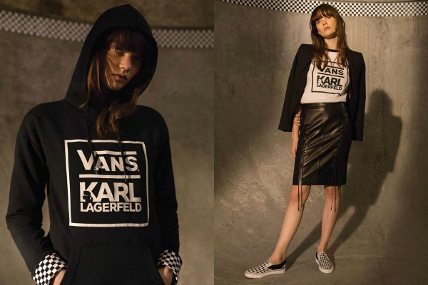 Here's what Vans x Karl Lagerfeld collection offers