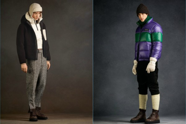 Colorful winter with Z Zegna