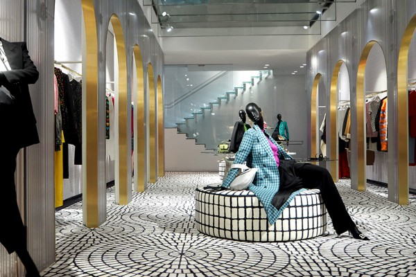 A new fascinating interior design in Florence