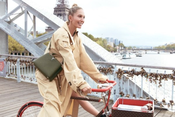 Greek princess in the new Louis Vuitton campaign