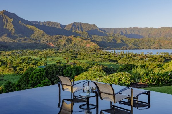 The perfect villa with rainfores views from every room