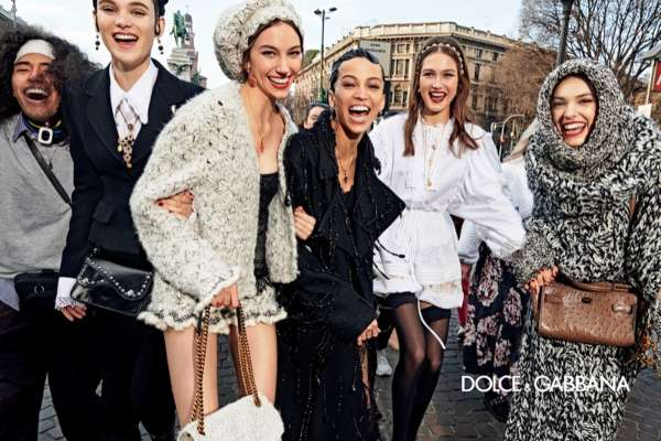 Dolce & Gabbana brings us joy with their new campaign