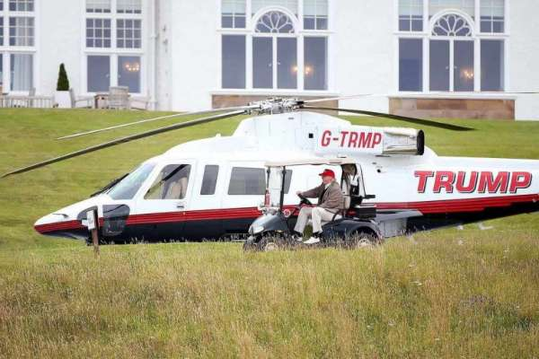 Donald Trump's helicopter for sale