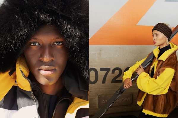 Fendi launches their new ski inspired collection