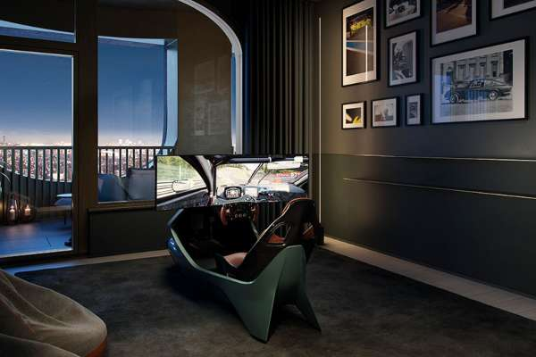 Would you like a penthouse which comes with its own Aston Martin?
