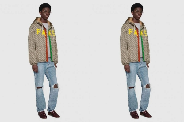 Beat them at their own game: Gucci launches Fake/Not collection