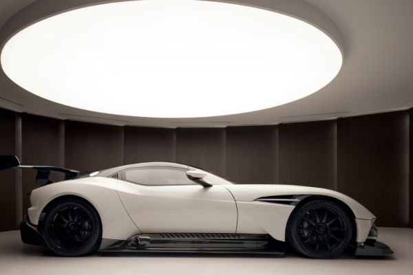 50 million dollars penthouse which comes with an Aston Martin Vulcan