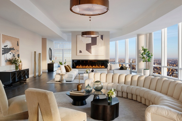 Take a look at the highest penthouse in New York
