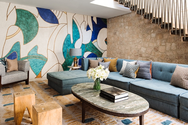 Vacation home in Ibiza inspired by one particular piece of art