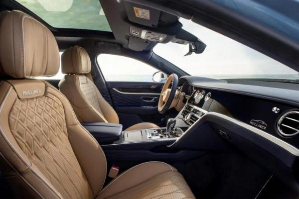 Pinacle of luxury: 2022 Bentley Flying Spur Mulliner