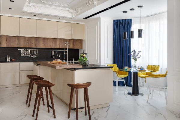 Modern apartment with French allure