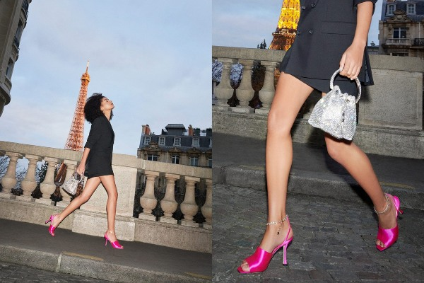Spring time in Paris: new Jimmy Choo campaign