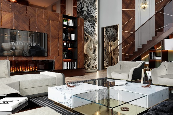 Perfectly modern and classical villa in St Petersburg