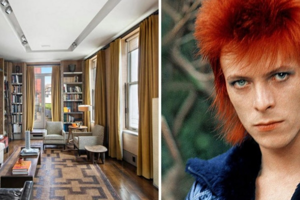 Would you like to live in David Bowie's eclectic home?