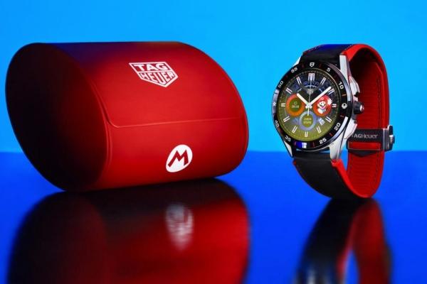 New collab: TAG Heuer x Super Mario