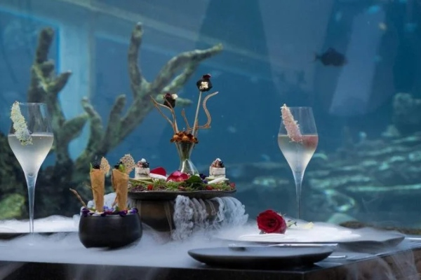Sneak a peak inside the most beautiful restaurant of the world