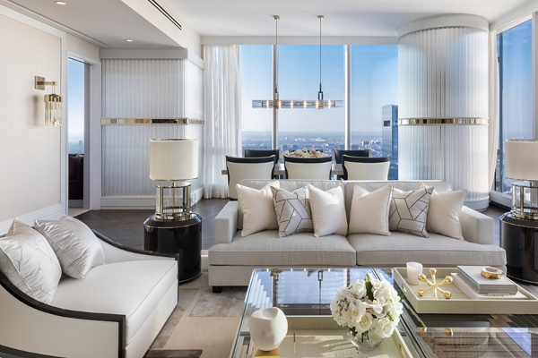 Sneak a peak into the highest apartment in New York