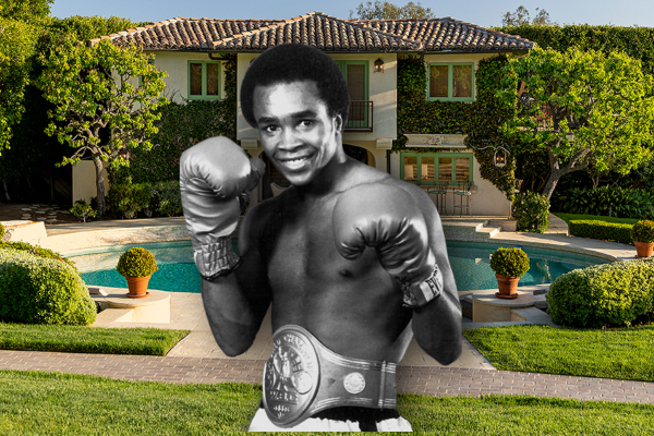 Famous boxer is selling his magnificent villa