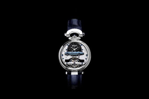 The Rolls-Royce boat tail timepieces:  An artistic collaboration with Bovet 1822