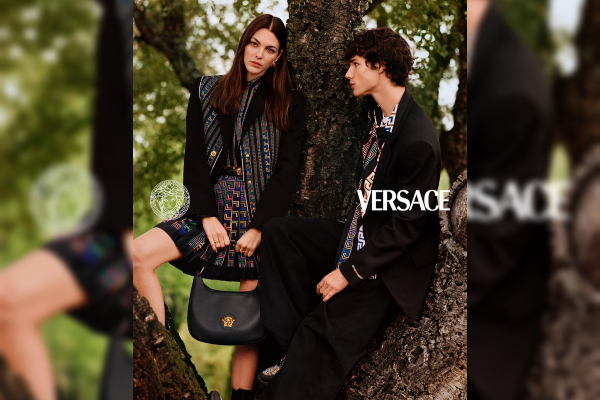 Versace presents their pre-fall 2021 campaign