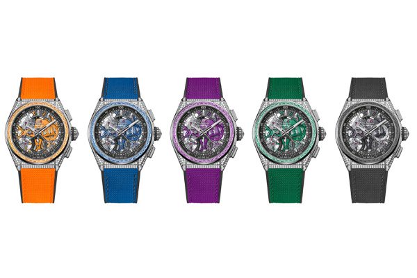 Zenith launches a new Defy 21 Spectrum collection