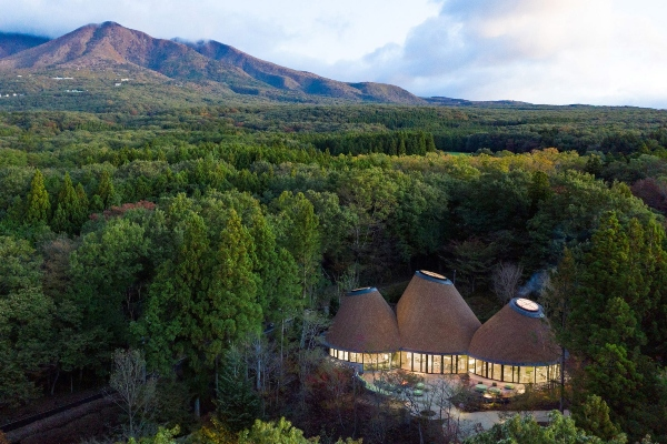 Charming Japanese hotel in the heart of the forest