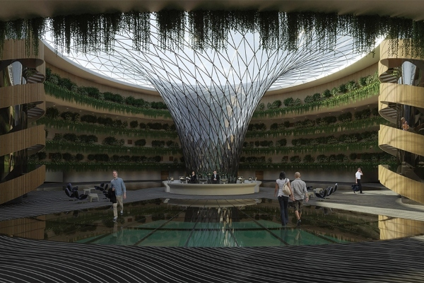 New luxury hotel on the coast of Qatar