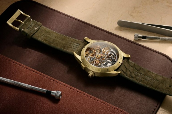 Inspired by military aesthetics: new Montblanc limited edition chronograph