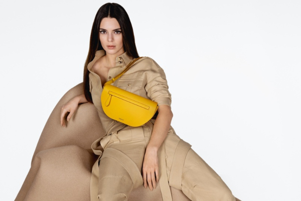 New Burberry bag in the center of attention