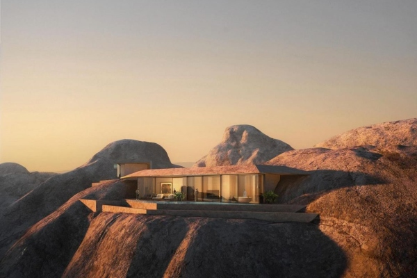 Far away from the light and noise of the modern world: a new luxury mountain resort in Saudi Arabia