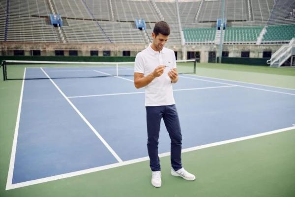 Novak Djokovic and Montblanc together again
