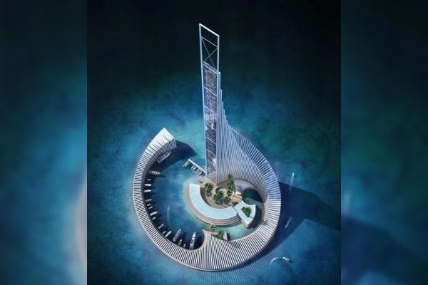 Zanzibar is getting a unique Domino Tower