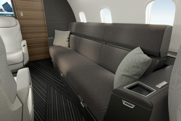 Bombardier Challenger 3500 - a new private jet flying over the limits of luxury